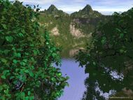 Desktop Wallpapers 3D Backgrounds 3D Mountain