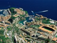 Aerial View, Monaco