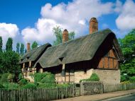 Desktop Wallpapers » Natural Backgrounds » Anne Hathaways ... Anne Hathaway's Cottage