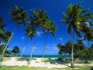 Bacardi Beach, Cayo Levantado, Dominican Republic