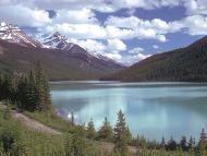 Beautiful Mount, Water, Clouds