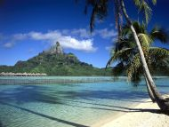 Bora Shoreline French Polynesia
