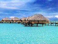 Bora Bora, Capanne