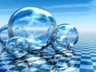 3d Bubbles Wallpaper: Desktop Wallpapers » 3D Backgrounds » Bubbles On Floor