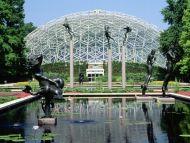 Climatron, Botanical Gardens, St Louis, Missouri