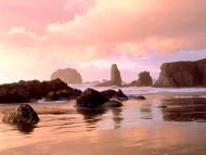 Coastal Sunset, Face Rock State Park, Bandon, Oregon