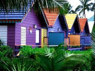 Colorful Houses, Bahamas