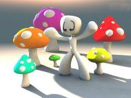 Colourful Mashrooms