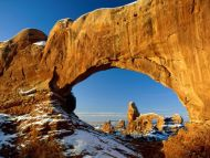 Crisp Winter Day, Arches National Park, Utah