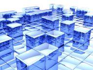 Cubes Blue