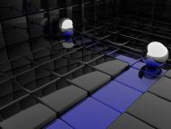 Desktop Wallpapers 3d Backgrounds Dark Cube Www Desktopdress Com