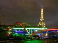 Eiffel Tower and Lights