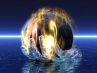 Desktop Wallpapers » 3D Backgrounds » Energy Hand » Www