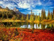 Fall in the Tatoosh Wilderness, Mount Rainier National Park