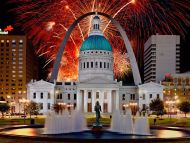 Fireworks Display, St Louis, Missouri