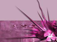 Flora Pink 3D Theme