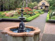 Fountain and Garden House Shore Acres State Park, Oregon