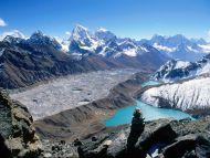 Gokyo Lakes and Ama Dablam, Khumbu Region, Nepal