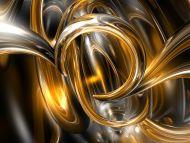 Desktop Wallpapers 3D Backgrounds Gold Lubricants Www