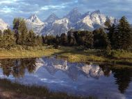 Grand Teton Reflections, Yellowstone