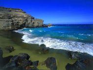 Green Beach, Big Island, Hawaii
