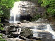 Greenland Creek Falls, Nantahala National Forest, North Carolina