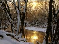 Harpeth River Winter Sunrise, Williamson County
