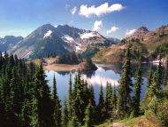 Hart Lake in the Olympic Mountains