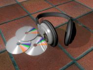 Headphone and Cds
