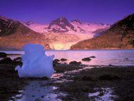 Icebergs at Sunrise Derickson Bay, Alaska