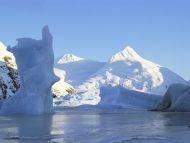 Icebergs Portage Glacier, Alaska