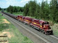Iron Range Taconite Train, Minnesota