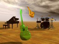 3d Jazz Music Wallpapers: Desktop Wallpapers » 3D Backgrounds » Its Only Jazz » Www