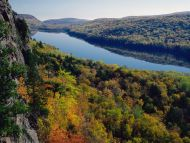 Lake of the Clouds, Porcupine Mountains, Michigan