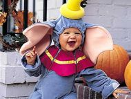 Laughing Halloween Baby