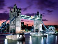 London Evening, Tower Bridge, England