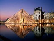 Louvre Aglow, Paris, France