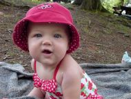 Loveable Princess in Pink Hat