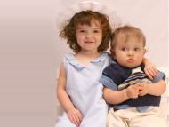 Lovely Sister with his Cute Baby Brother