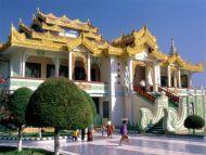 Maha Muni Pagoda, Mandalay, Myanmar