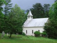 Methodist Church, Great Smoky Mountains, Tennessee