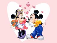 Mickey Mouse in Love