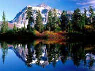 Mirror Reflections, Mount Shuksan, Washington