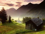 Misty Mountain Village, Tyrol, Austria
