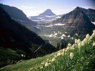 Desktop wallpapers natural backgrounds mount reynolds - Glacier national park wallpaper ...