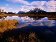 Mount Rundle from Vermillion Lakes, Canada