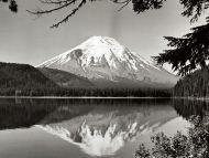 Mount Saint Helens and Spirit Lake, Washington