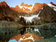 Mount Shuksan and Lake Ann, Washington