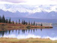 Mount Tundra and Wonder Lake, Denali National Park, Alaska