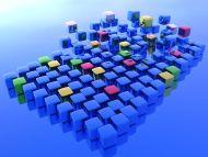 Multiple Blue Cubes